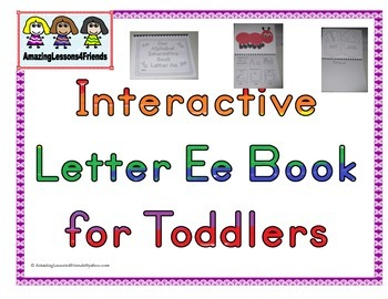 Interactive Books Letter Ee
