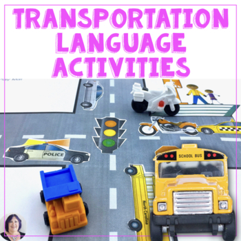 Transportation Interactive Books and Activities Special Ed