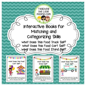 Interactive Books for Matching and Categorizing Skills:  F