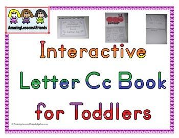 Interactive Books letter Cc