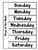 Interactive Calendar Math Journal
