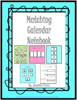 Interactive Calendar Notebook-Matching Version