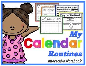 Interactive Notebook - Calendar Routines