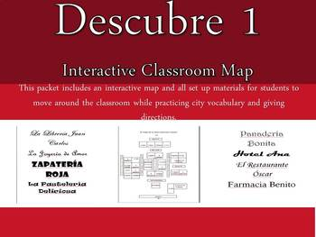 Interactive Classroom Map