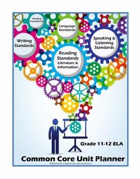 Grade 11-12: Interactive ELA Common Core Unit Planner w/Dr