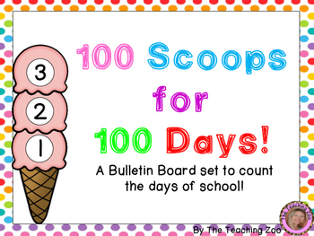 Interactive Counting to 100 Bulletin Board