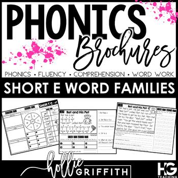 Interactive Decodable Readers: Short E Word Families