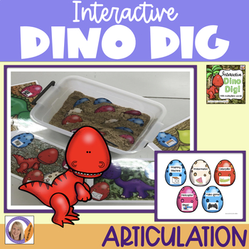 Interactive Dino Dig for multisyllabic words