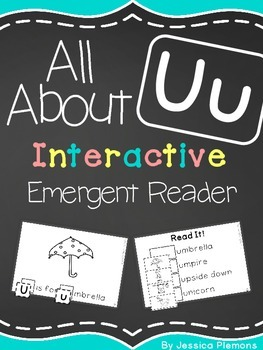 Interactive Emergent Reader: All About U