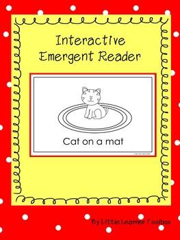 Interactive Emergent Reader (Cat on a Mat)