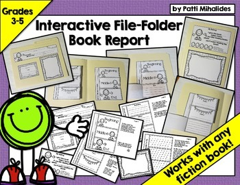 Interactive File-Folder Book Report (perfect for Gr. 3-5,