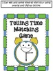 Interactive Math Notebook Telling Time