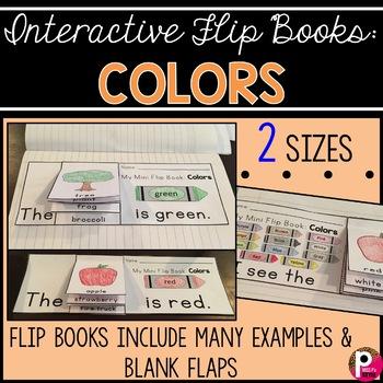 Interactive Flip Books: Colors