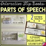 Parts of Speech Flip Books