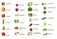 French Fruits and Vegetables Interactive Activity, Powerpo