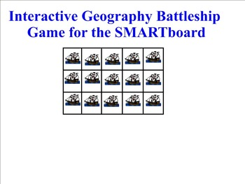 Interactive Geography Game for the Smartboard