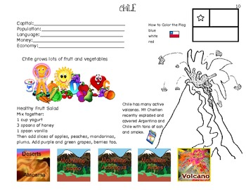 Interactive Geography Unit Studies-South America
