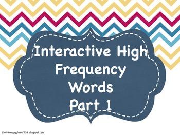 Interactive HFW Notebook Part 1