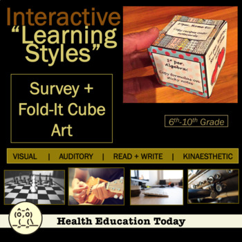 """Interactive Health Lesson: Learning Styles Survey and a """"F"""