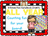 Interactive Hundreds Charts ALL YEAR - Counting Fun for yo