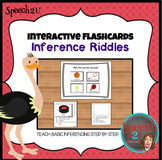 Interactive Inference Riddles: Speech therapy, language, a