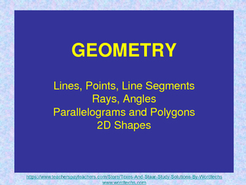 Interactive Introduction to Geometry