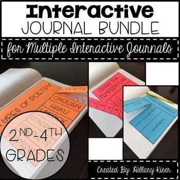 Interactive Journal Bundle! (Multi-Level)