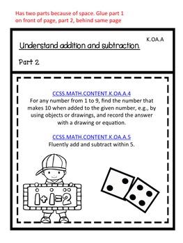 Interactive Journal Templates for Kindergarten