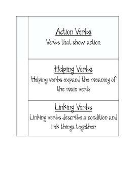 Interactive Journal--Verbs