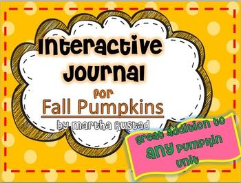 Pumpkin Interactive Journal