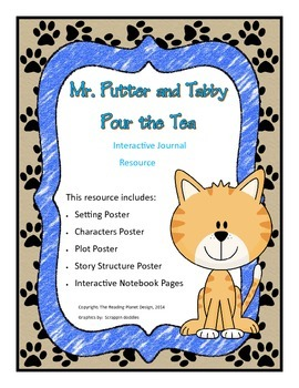Interactive Journal pages & more for Treasures- Mr. Putter