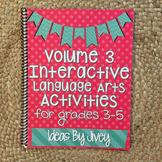 Interactive Language Arts Activities (Vol 3) for Grades 3-