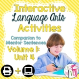 Interactive Language Arts Activities: Vol 1,FOURTH Mentor