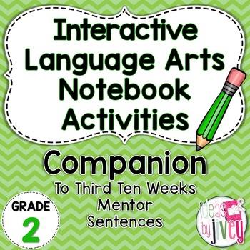 Interactive Language Arts Activities: THIRD Mentor Sentenc
