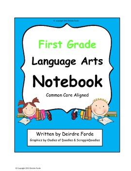 Interactive Language Arts Notebook: First Grade