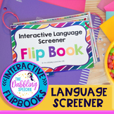 Interactive Language Screener Flip Book