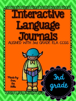 Interactive Language/Grammar Journals {ALL 3rd Grade Langu
