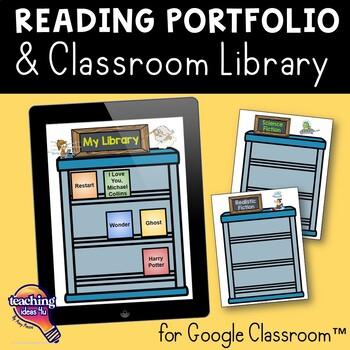 Interactive Library & Reading Portfolio Google Drive Alter