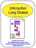 Interactive Long Division