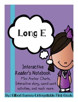 Interactive Long E for Reader's Notebook