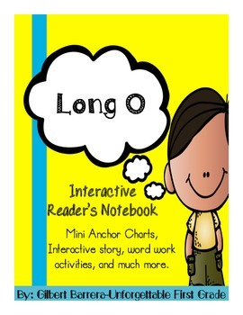 Interactive Long O for Reader's Notebook