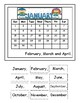 Interactive MONTHS OF THE YEAR BOOK