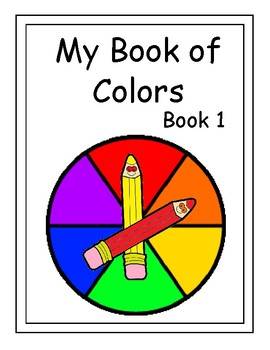 Interactive MY BOOK OF COLORS BOOK