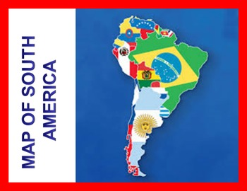 Interactive Maps of Central America and South America