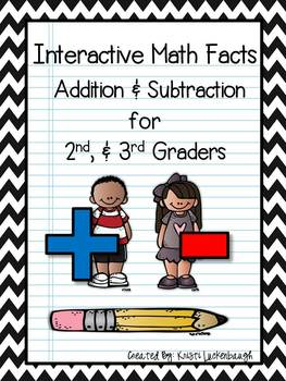 Interactive Math Facts - Addition and Subtraction