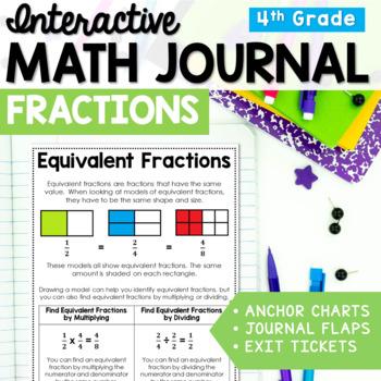Interactive Math Journal: 3rd - 5th Grade Fractions