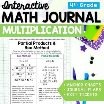 Multiplication Interactive Math Journal