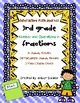 Interactive Math Journal 3rd Grade Bundle: Fractions and Geometry