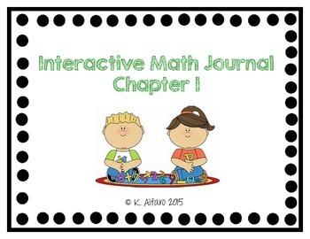 Interactive Math Journal - No Prep (GoMath-1st Grade) Chapter 1