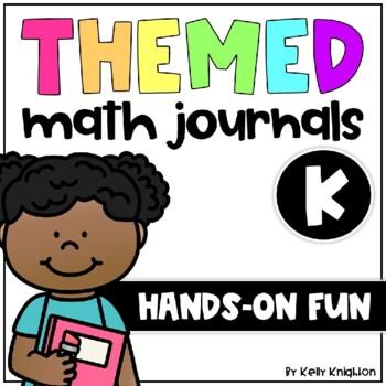 Interactive Math Journals Kindergarten BUNDLE